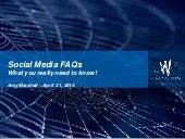 Hocking Hills Tourism Association Social Media Marketing FAQ