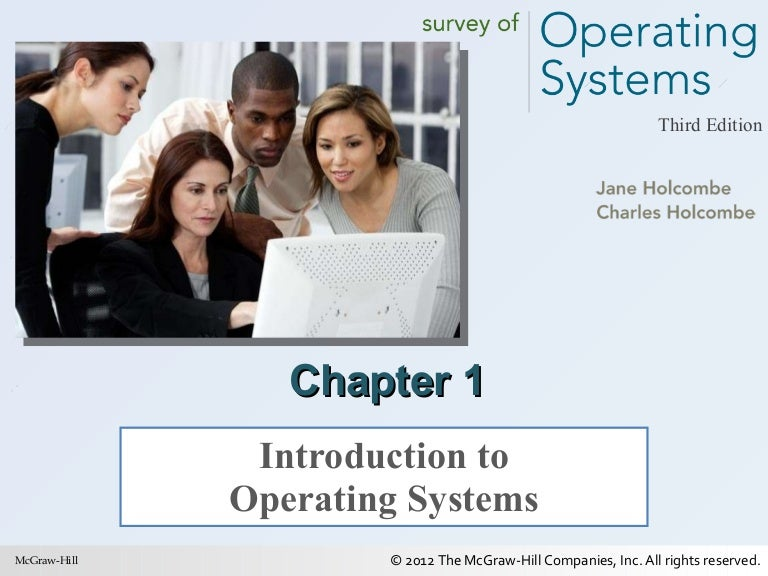 Survey of operating systems ch 08.