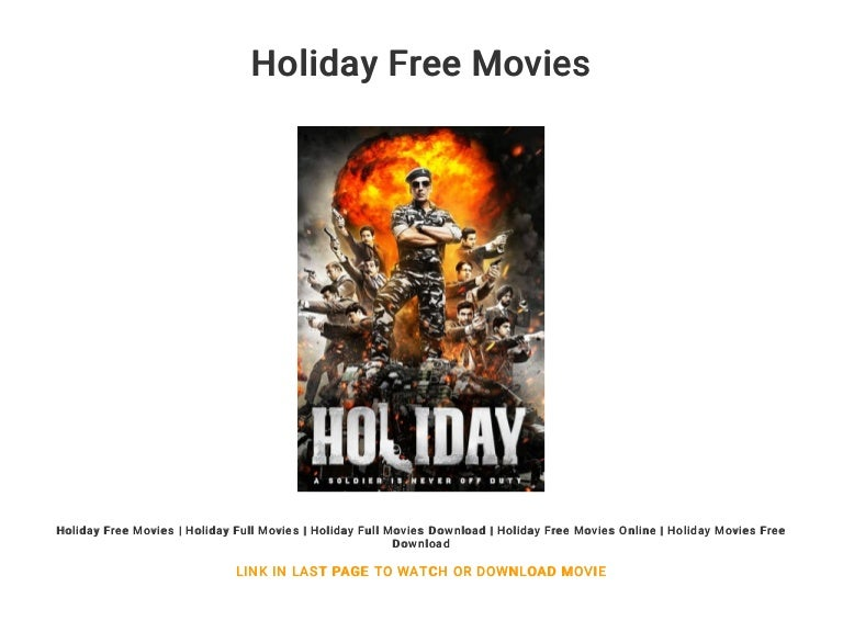 the holiday full movie download free