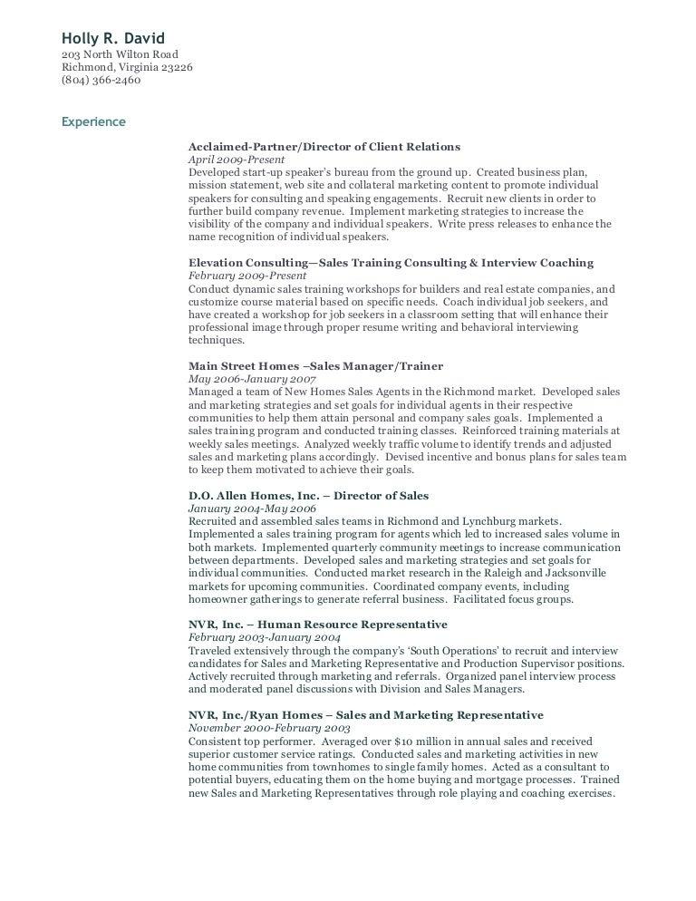 holly r david resume - Resume Builder Companies