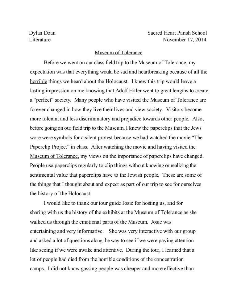 intro to holocaust essay