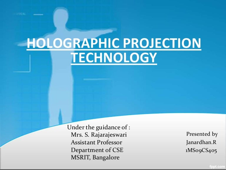 hologram powerpoint presentation