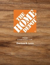 Imc 610 Integrated Communications Plan For Home Depot Final Project
