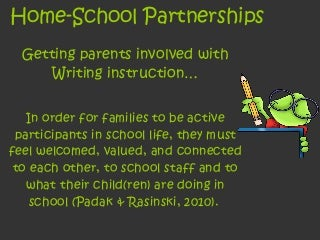 Home school partnership project