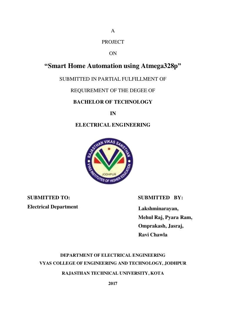 Smart Home Automation Using Atmega328p Of Electronics And Automations Working With The Comparator Circuit Homeautomationmajor 170404083341 Thumbnail 4cb1491295007