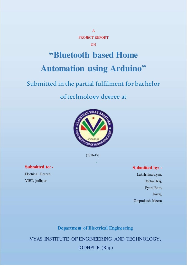 Home Automation With Arduino Bluetooth Android Based System Circuit Block Diagram Homeautomationwitharduino 171029092853 Thumbnail 4cb1509269452
