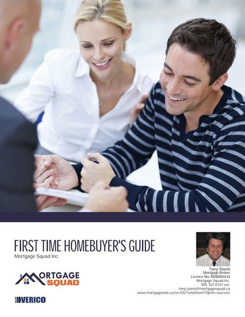 Home Buyers Guide courtesy of Tony Slavin