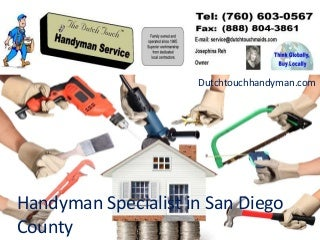 Home Improvement & Handyman Services Provider Company In California