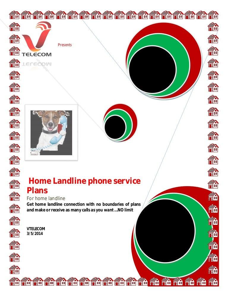 Landline Phone Service >> Home Landline Phone Service Plans