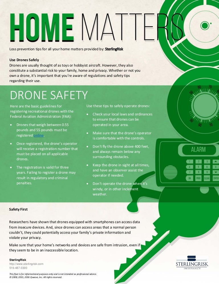 Home Matters - Drone Safety