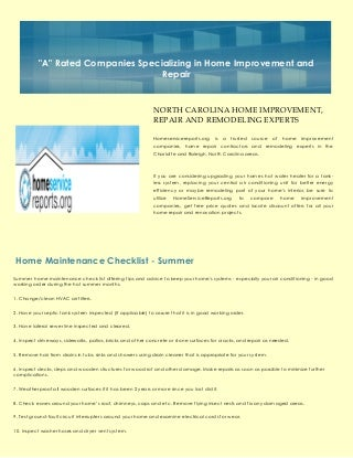 Home Remodelers in Charlotte