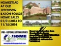 Homestead At Old Jefferson Baton Rouge LA 70817 Home Sales Report 2014