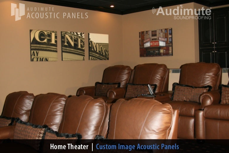 Audimutes Home Theater Wall Decor - Home theater wall decor
