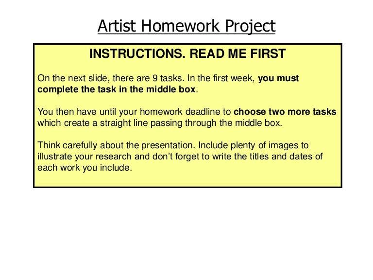find my homework fortismere