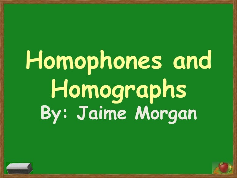What are Homophones? | Worksheet | Education.com