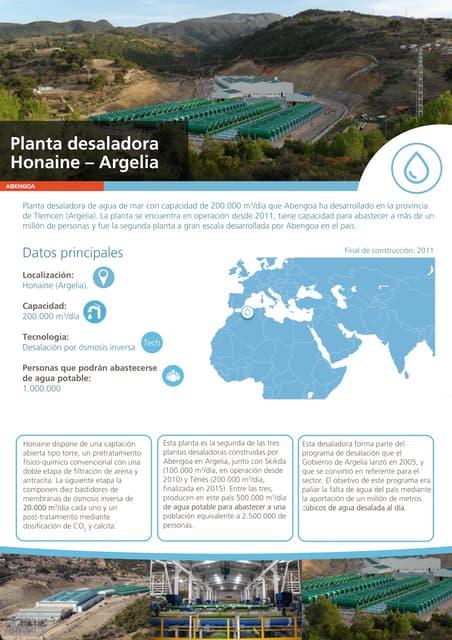 Planta desaladora de Honaine