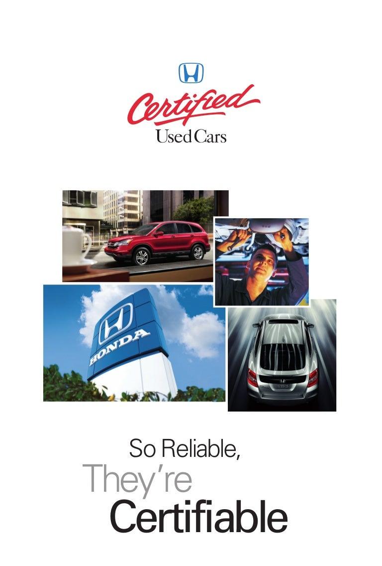 Certified Used Cars >> Certified Honda Miami 1 Dealer Brickell Honda