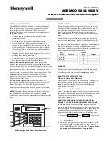 Honeywell 5828-and-honeywell-5828v-install-guide