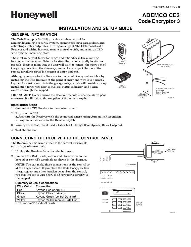 main control unit 2x remotes instructions wiring diagram wiring  main control unit 2x remotes instructions wiring diagram wiringhoneywell ce3 install guidemain control unit 2x remotes