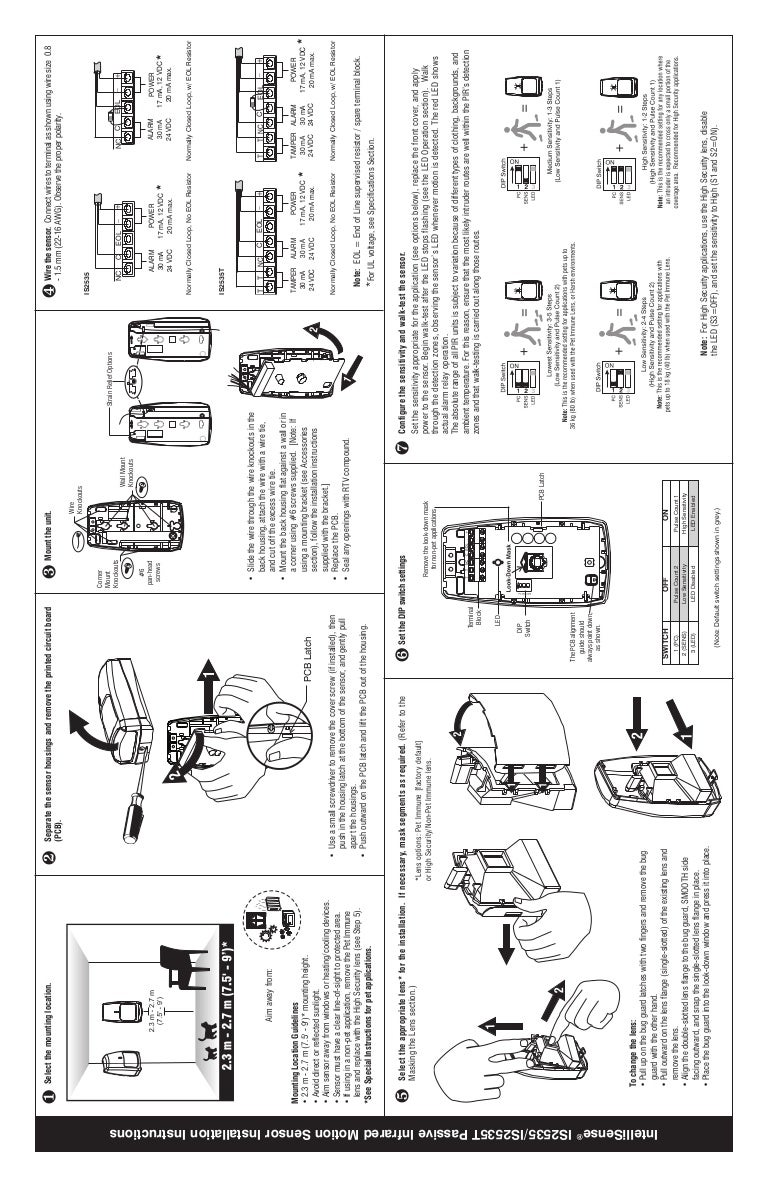 honeywell is2535 install guide 120804185027 phpapp01 thumbnail 4?cbd1344338113 honeywell motion sensor wiring diagram wiring diagrams schematics