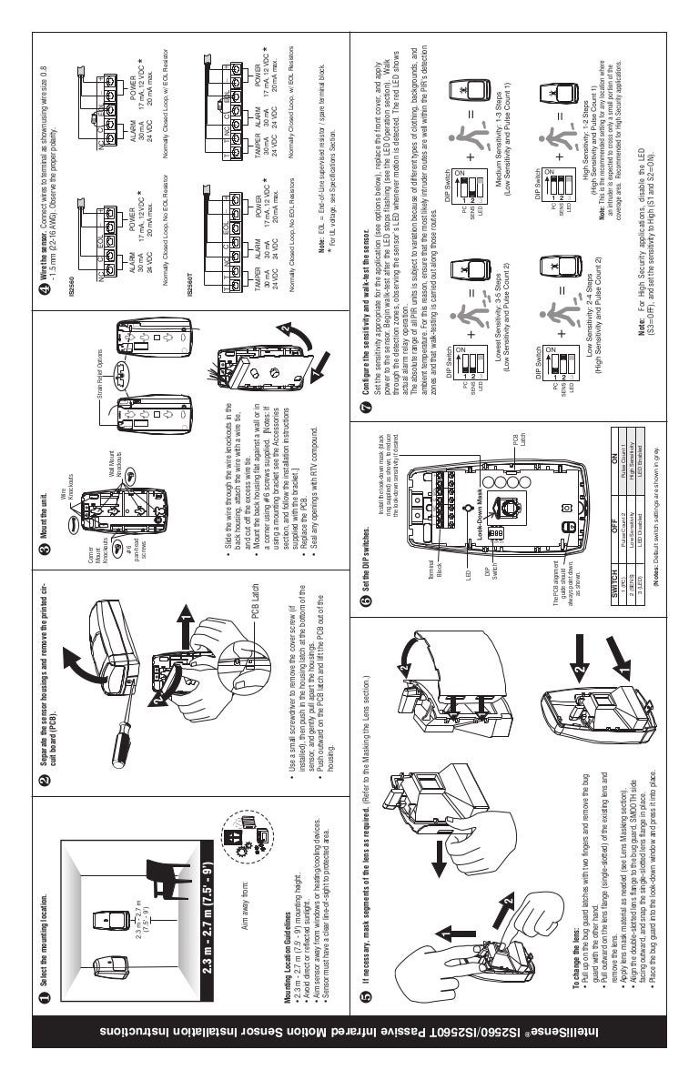 Honeywell is2560-install-guide