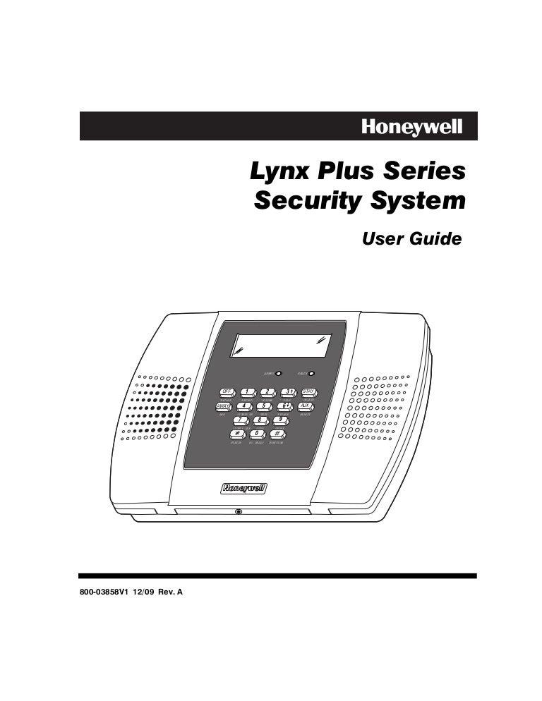 honeywell l3000 user guide rh slideshare net lynx plus l'3000 installation manual lynx plus installation guide