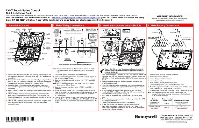 honeywell l5000 quick install guide 120804185335 phpapp01 thumbnail 4?cb=1344195665 honeywell l5000 quick install guide ademco lynx wiring diagram at honlapkeszites.co