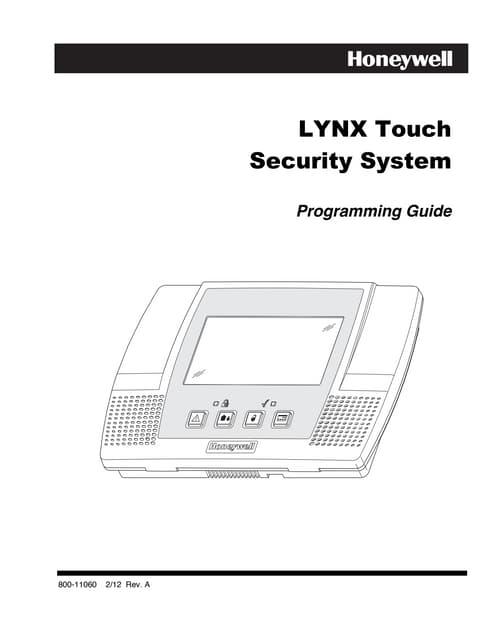 Honeywell l5100-programming-guide.