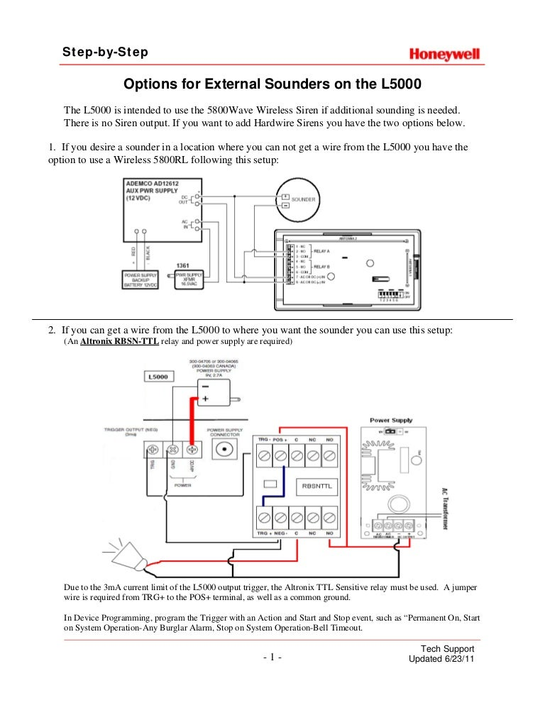 honeywell lynx touch external sounder install guide 120917000606 phpapp01 thumbnail 4?cb=1347840454 honeywell lynx touch external sounder install guide Basic Electrical Wiring Diagrams at creativeand.co
