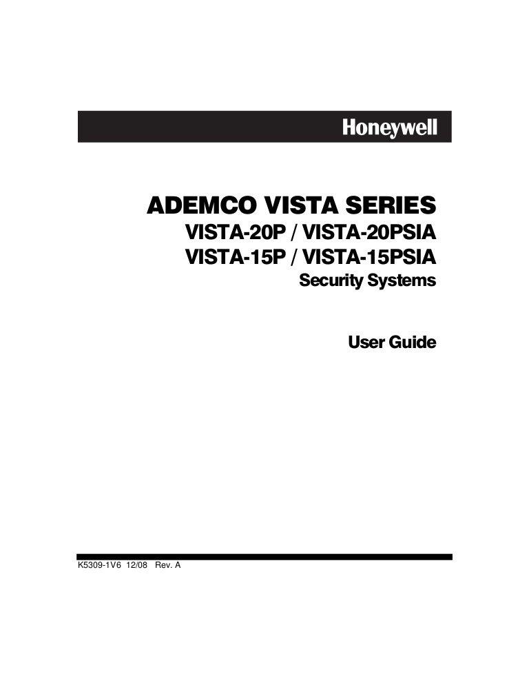 Honeywell Vista 20p Diagram : 27 Wiring Diagram Images