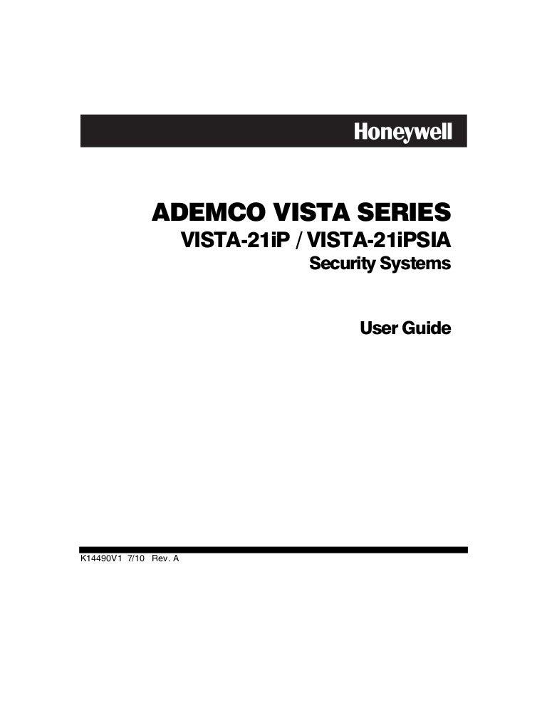 Honeywell vista 21ip programming guide.