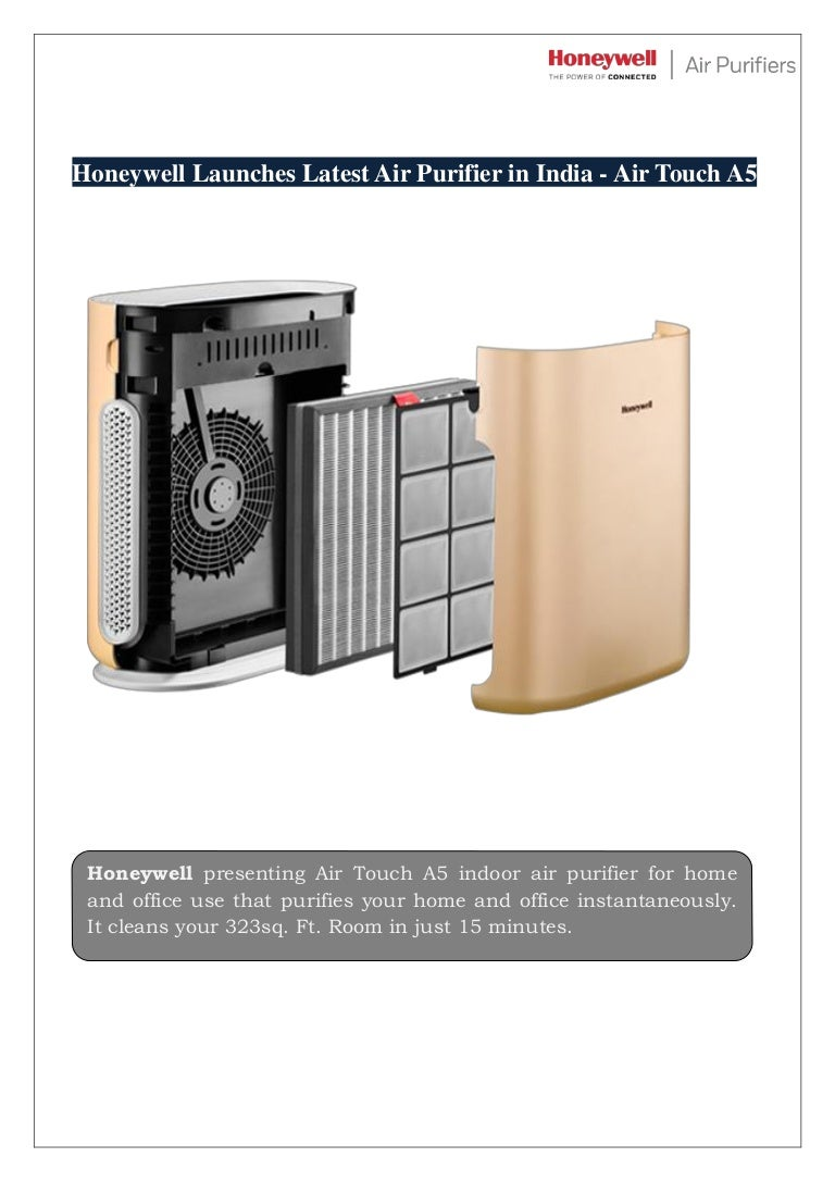 Honeywell Launches Latest Air Purifier in India Air Touch A5