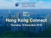 Backstop Hong Kong Connect 2018