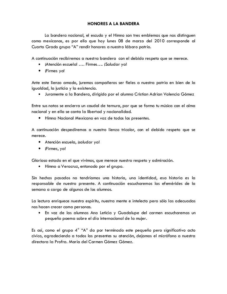 programa de honores a solfa syllable distintivo primaria estado de mexico