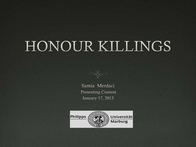 Honour Killing Short Essay Examples - image 10