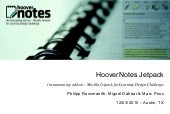 Hoover Notes