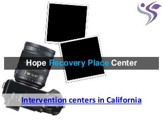 alcohol recovery centers california