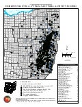 Ohio Map of Utica Wells Permitted, Drilled, Etc. - Jan 2016