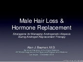 Hormone Replacement and Hair Loss - BaumanAJ a4m 2012