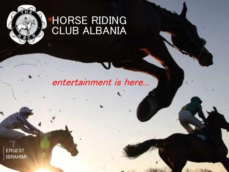 Business idea: Horse riding club albania