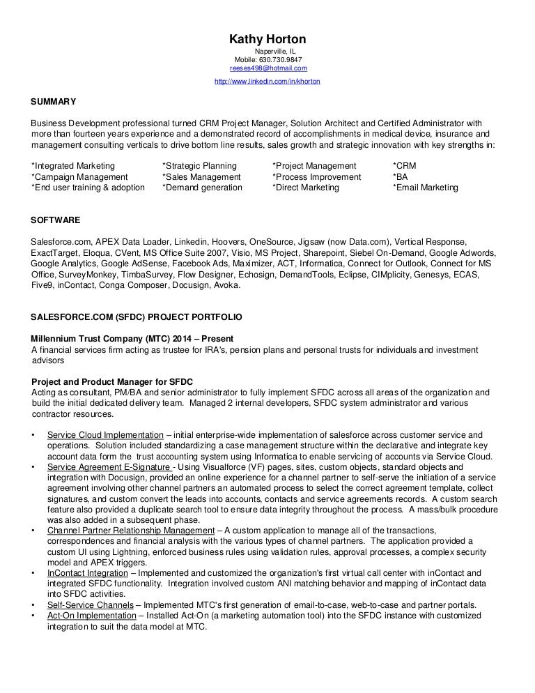 related post of resume salesforce developer