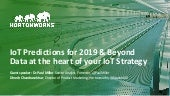 IoT Predictions for 2019 and Beyond: Data at the Heart of Your IoT Strategy