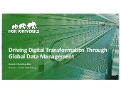 Driving Digital Transformation Through Global Data Management