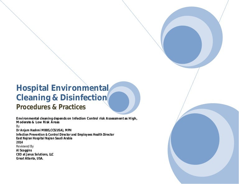 Hospital Environmental Cleaning & Disinfection, Procedures