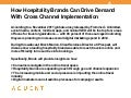 Aquent/AMA Webcast: How Hospitality Brands Can Drive Demand With Cross Channel Implementation