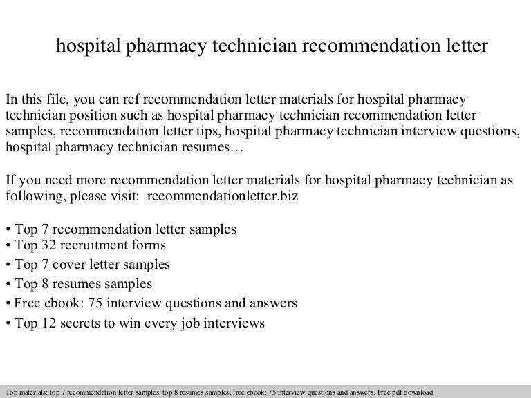 pharmacy school recommendation letter - Vatoz.atozdevelopment.co