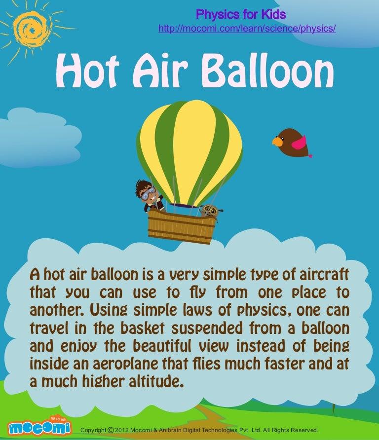 Hot Air Balloons (Facts) - Mocomi.com - photo#21