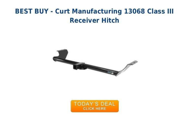 CURT 13068 Class III Receiver Hitch