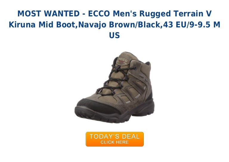cb03c577fd33 Hot deal ecco mens rugged terrain v kiruna mid boot navajo brown bl…