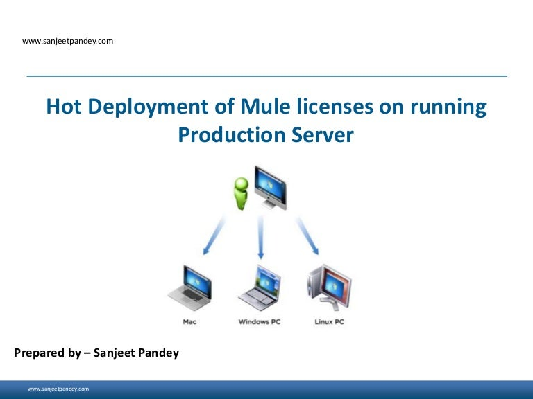 Hot Deployment Of Mule Licenses On Running Production Server